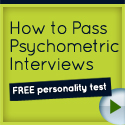 Psychometric Interviews - Square Button
